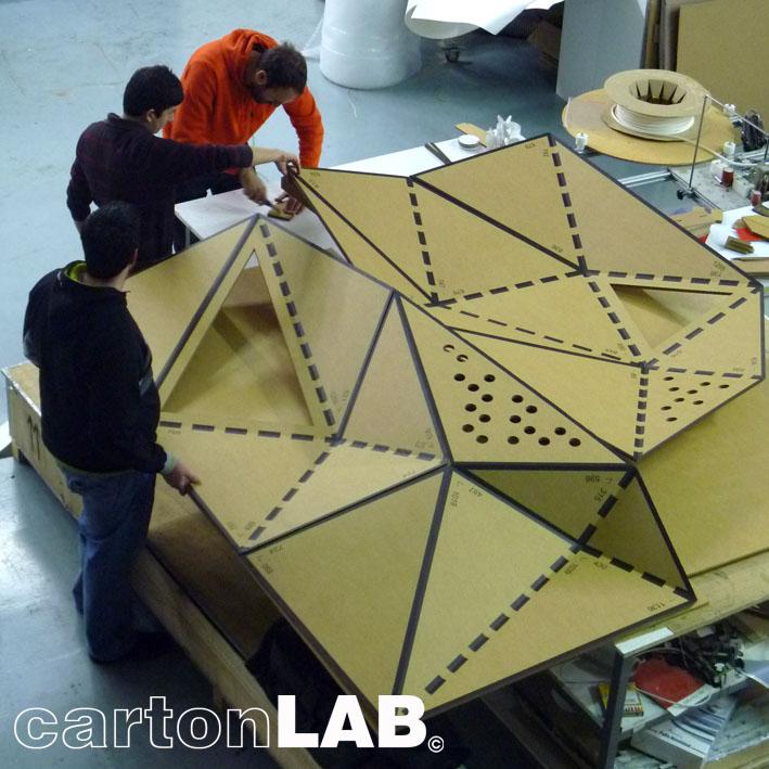 Fabricación del prototipo  del stand.