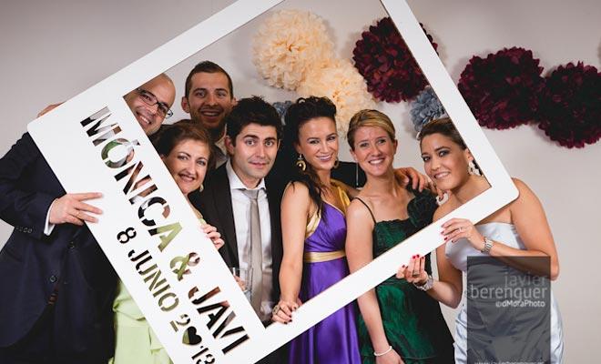 Photocalls en cart n for Fotocol de bodas
