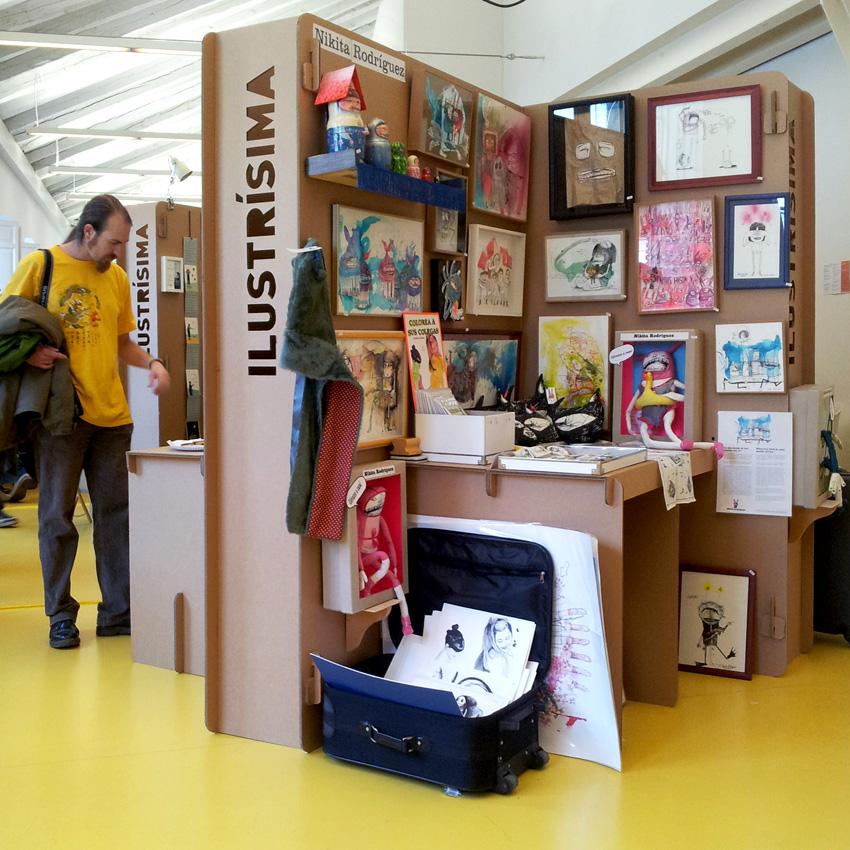 Feria ilustraci n ilustr sima 2012 - Lo ultimo en decoracion de paredes ...