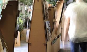 exposición medio ambiente cartonlab forest carton 04
