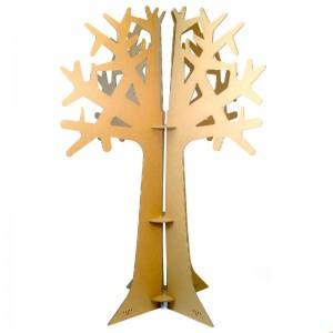 arbol carton cartonlab decoracion