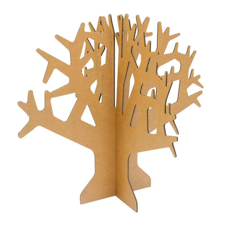 Rbol de cart ncartonlab - Como hacer un arbol de navidad de carton ...
