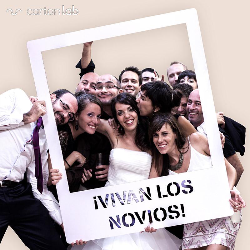 Photocall Polaroid para bodas