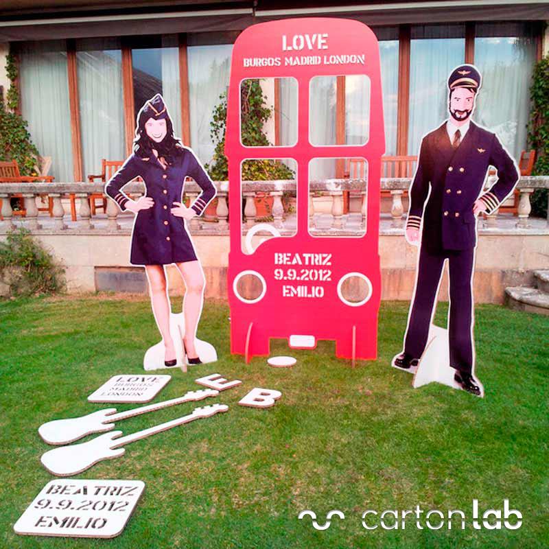 photocall personalizado autobus figuras complementos carton cartonlab (4)