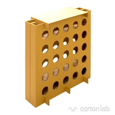 botellero carton cartonlab cardboard bottle rack (3)
