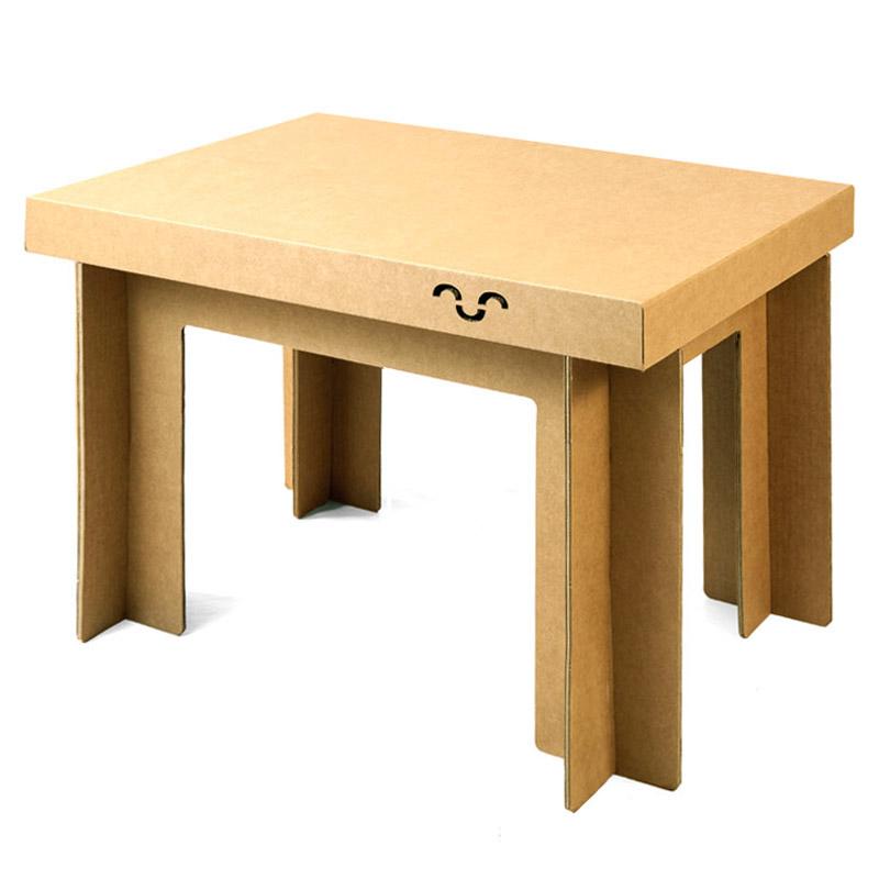 Mesa de cart n for Muebles para computador de mesa
