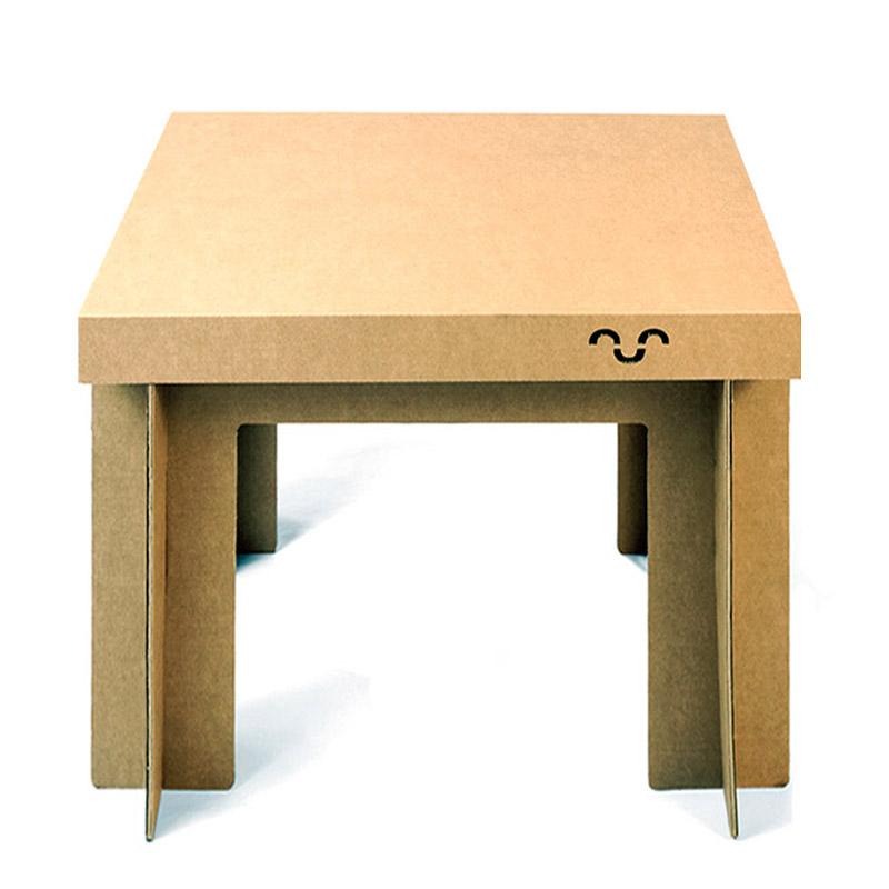 Mesa de cart n - Como hacer una mesa abatible ...