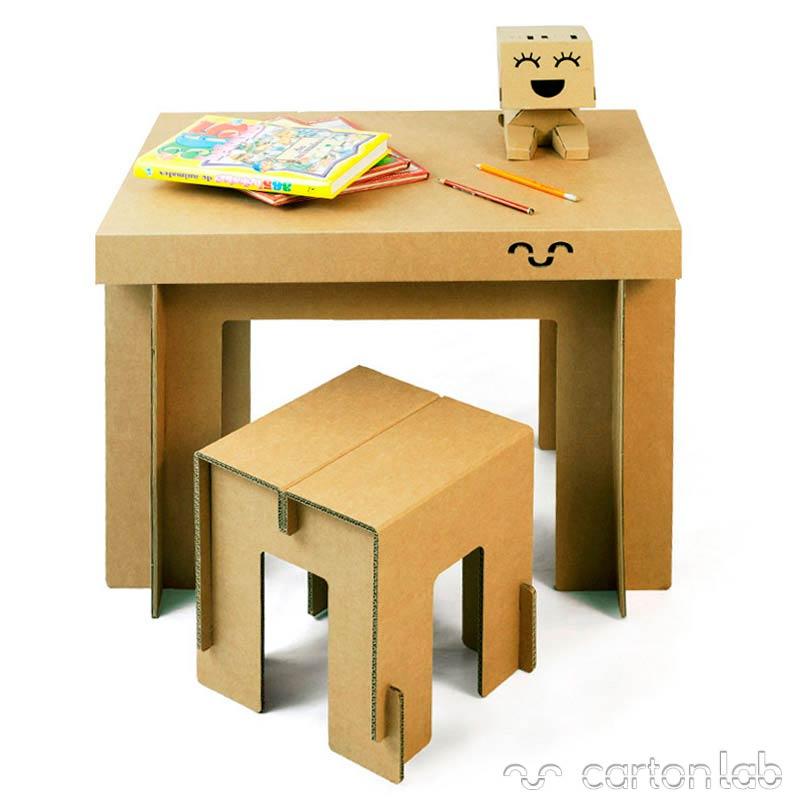 Mesa de cart ncartonlab - Mesas de carton ...