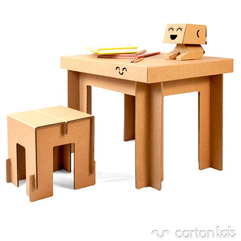 Mesa de cart n cartonlab - Mesas de carton ...