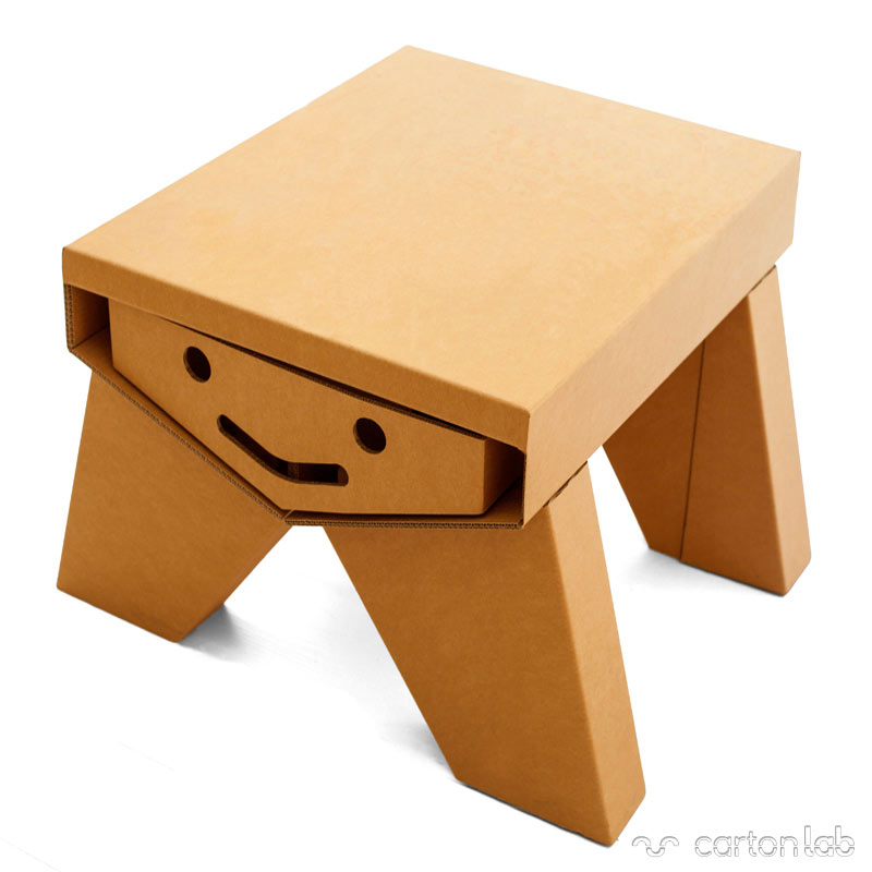 Mesa infantil de cart n - Mesas de carton ...