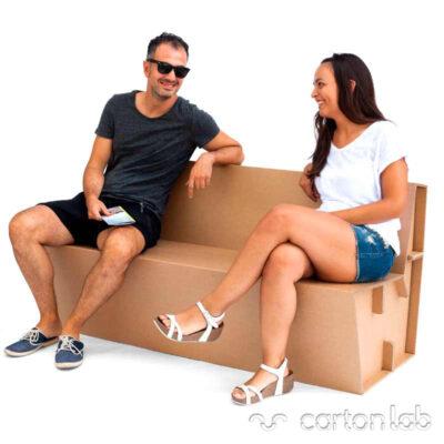 banco carton cartonlab bench cardboard 4