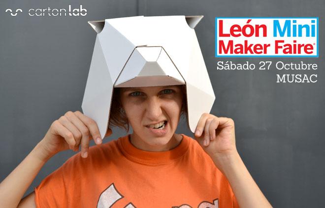 maker-faire-leon-cartonlab-taller-mascaras-carton