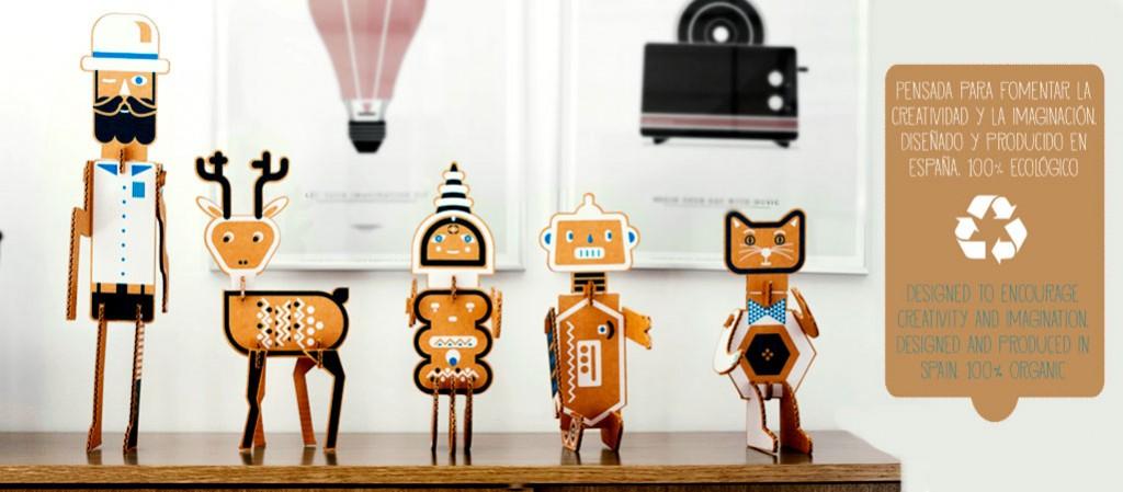 juguete carton educativo creatividad niños Diego Lizan Cartonlab