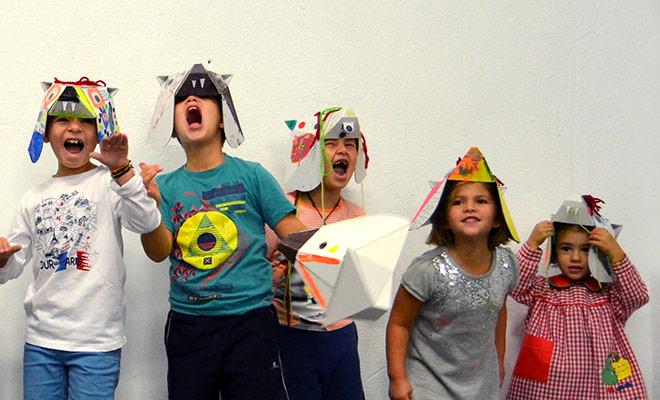 mascaras carton cartonlab taller infantil niños 04