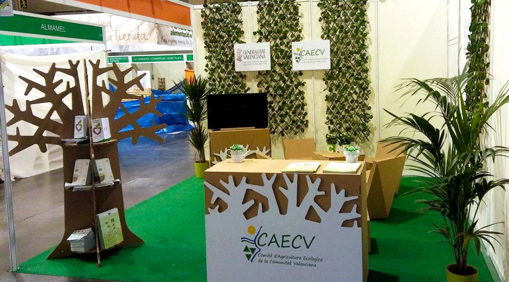 stand biocultura valencia caecv agricultura ecologica comunidad valenciana carton Cartonlab