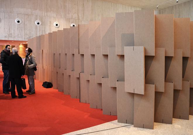 Yacimiento de minateda cartonlab - Biombos de carton ...