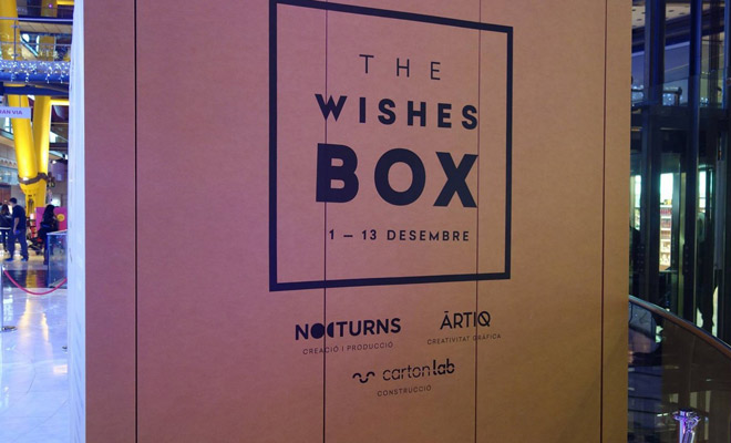 wishes-box-cartonlab-arenas-barcelona-stand-pabellón-cartón-02