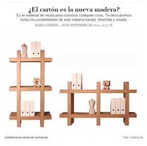 Muebles de cart n resistentes ligeros y sostenibles for Muebles de carton precios