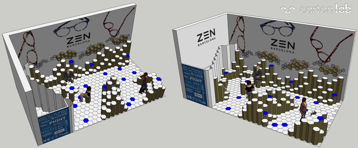 booth-carton-cartonlab-mido-2015-hexagonal-landscape-cardboard-01