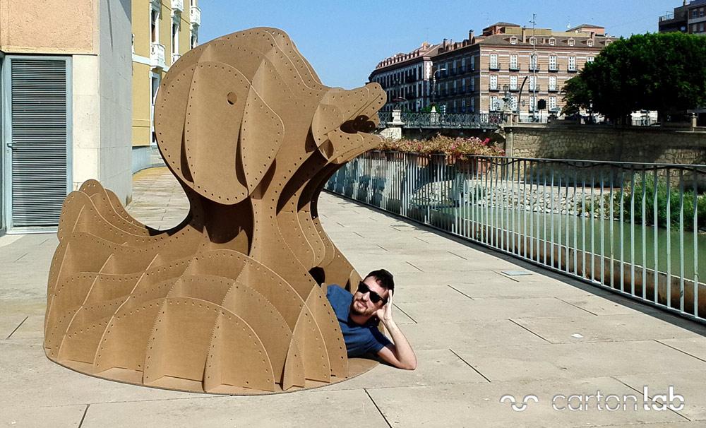 taller-infantil-verano-carton-cartonlab-pato-gigante-(1)
