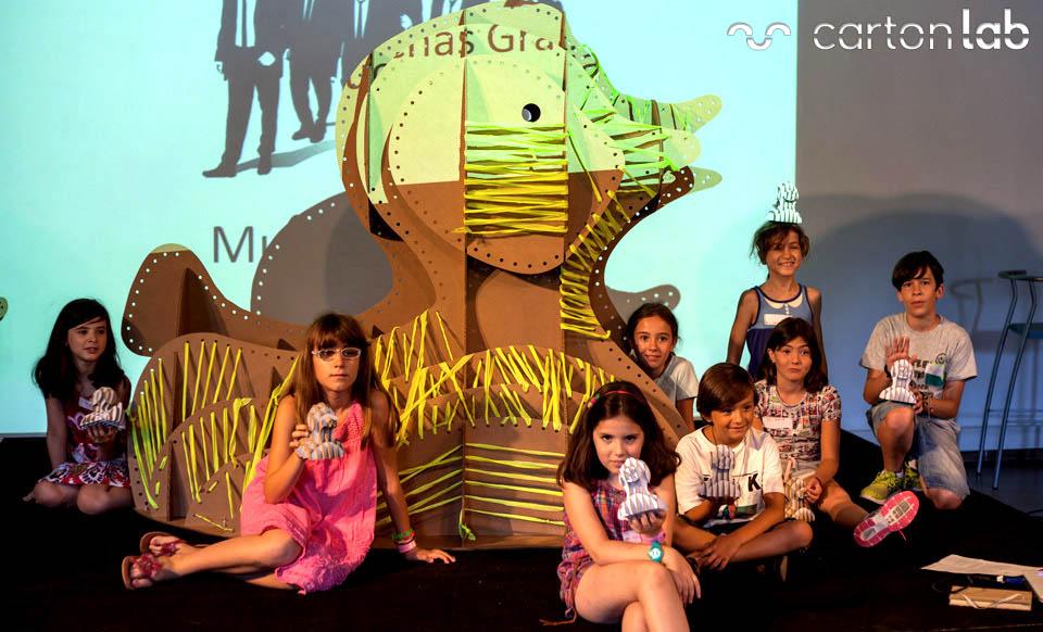 taller-infantil-verano-carton-cartonlab-molinos-pato-4