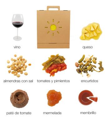 Caja regalo gastronomico de la Huerta murciana