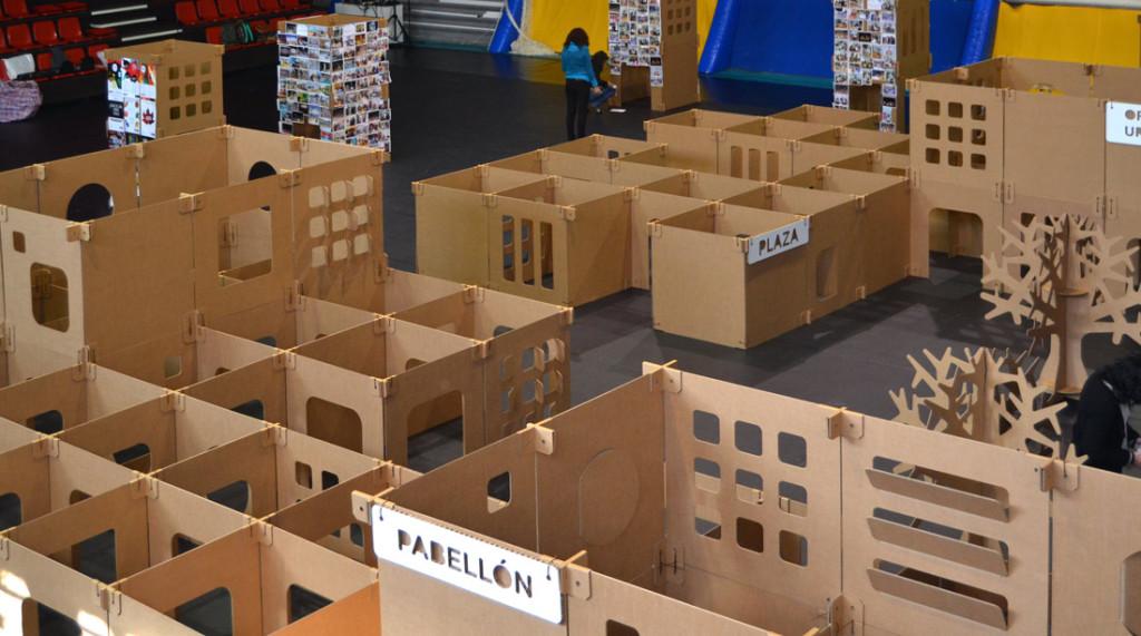 laberinto de cartón comprar paneles carton Cartonlab