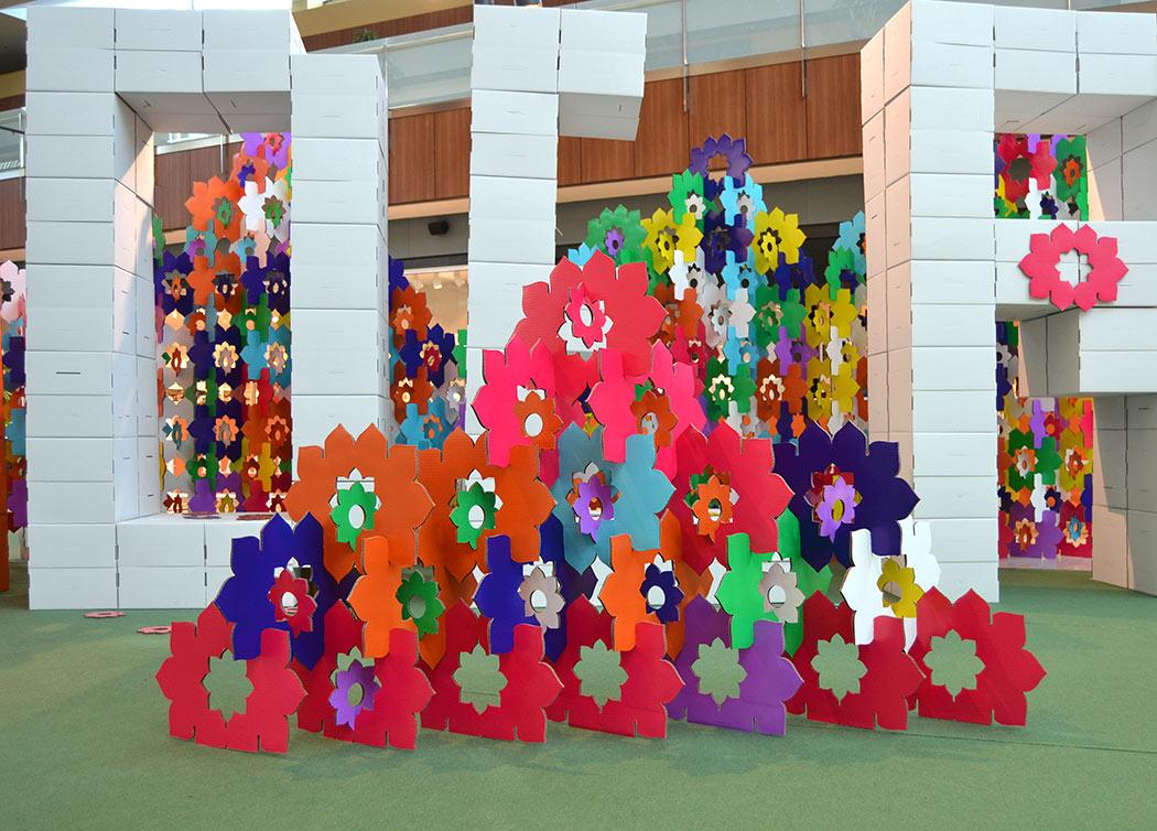 biombo-mandala-carton-modulo-colores-cartonlab-thader