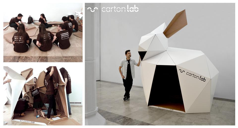 Día-del-Papel-cardboard-workshop-parametric-cartonlab-bunny-conejo-cartón