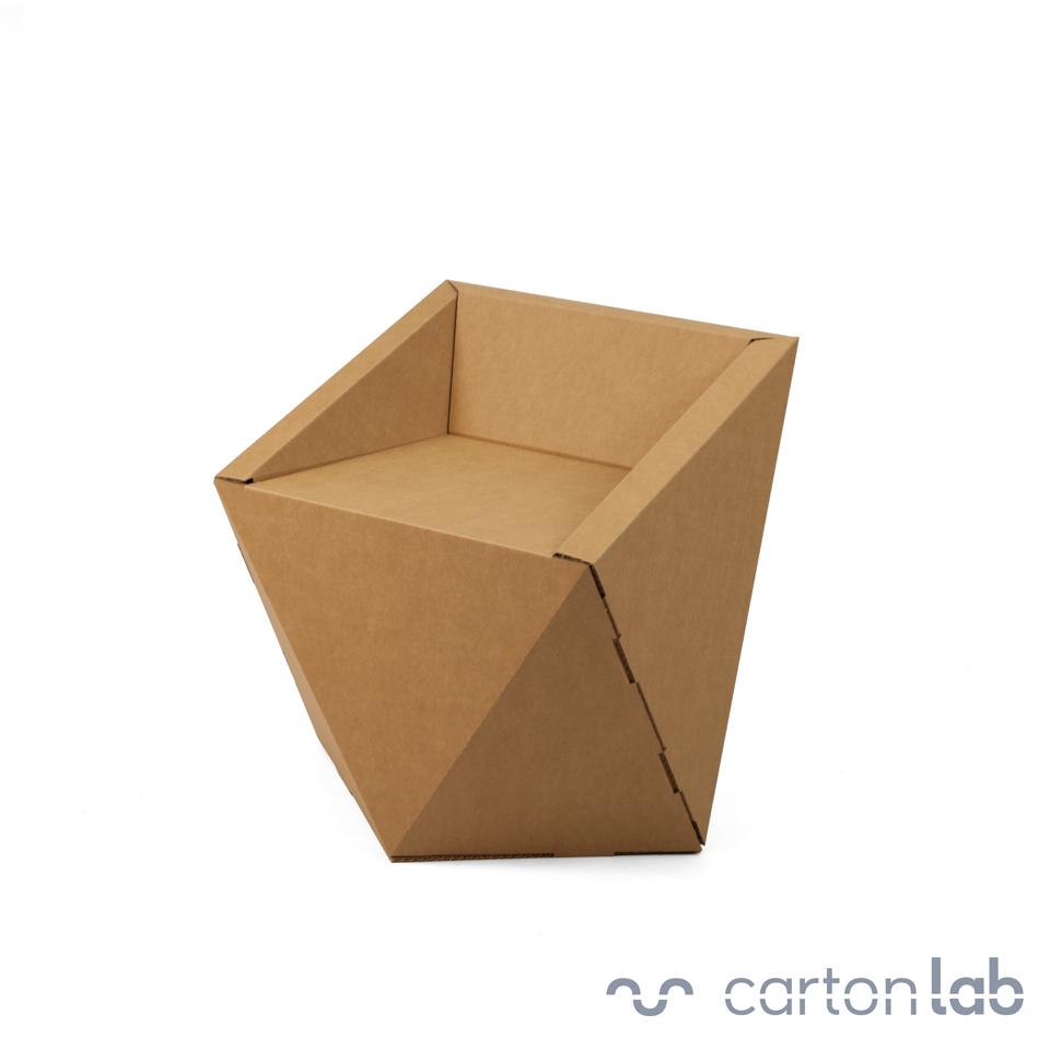 Mesas de carton latest refold la mesa de ordenador de - Muebles de papel ...