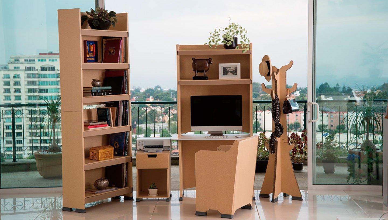 Dise o con cart n en m xico for Muebles de oficina merida yucatan