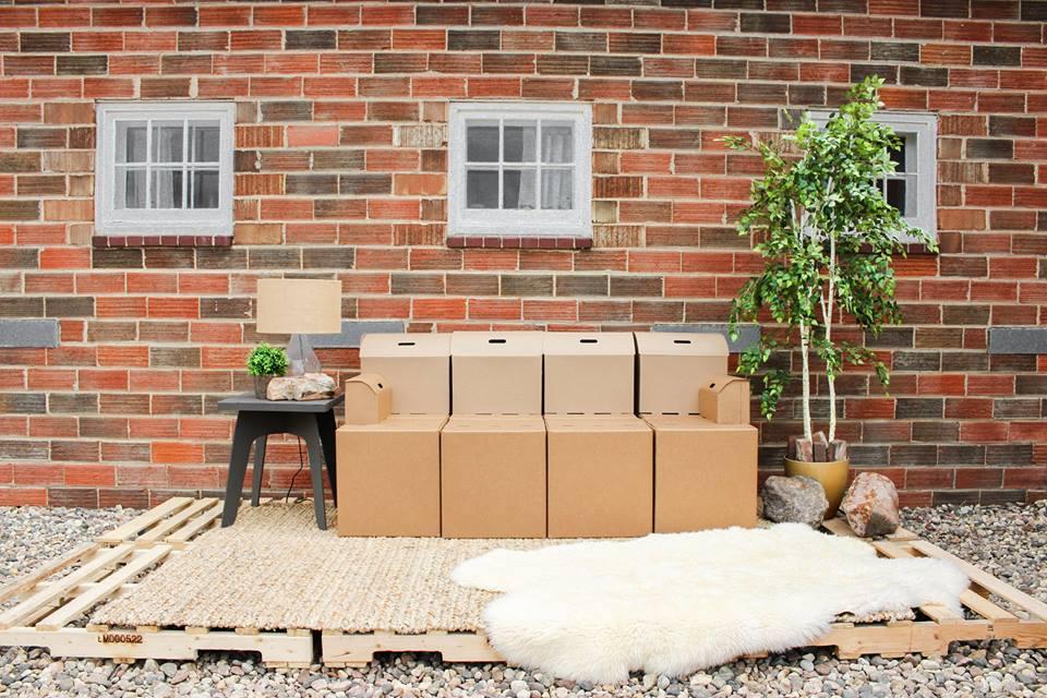 diseño con cartón en usa cardboard design made in usa dandy pack