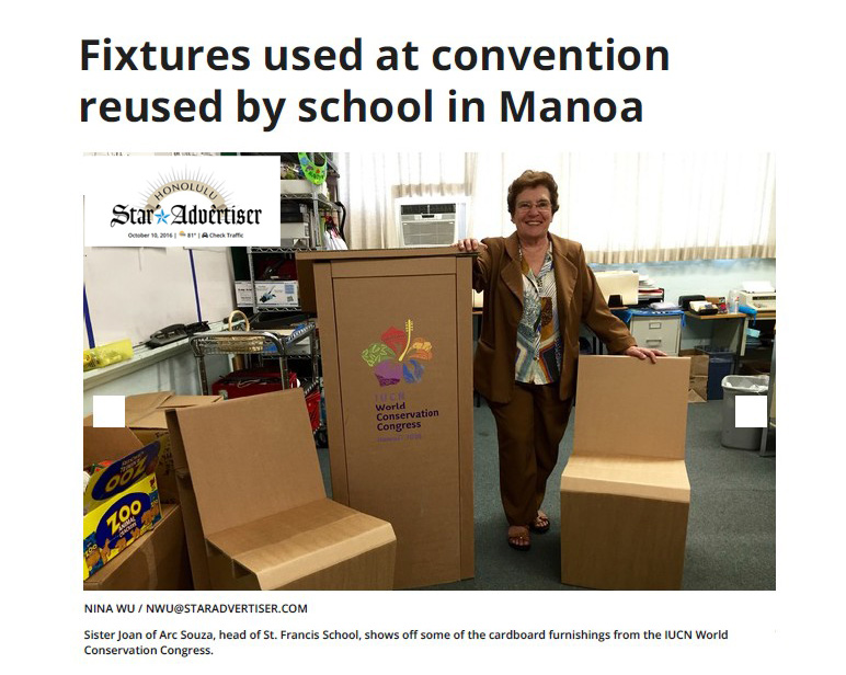star-advertiser-honolulu-cartonlab-cardboard-furniture-hawaii-iucn