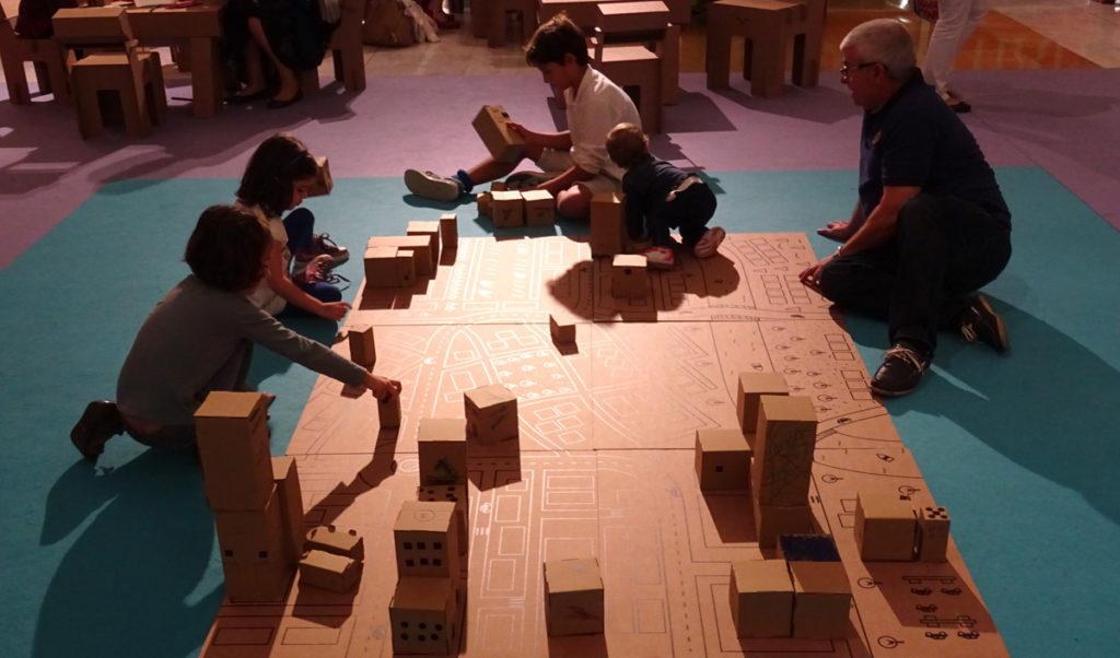 taller infantil arquitectura ciudad carton cartonlab 05