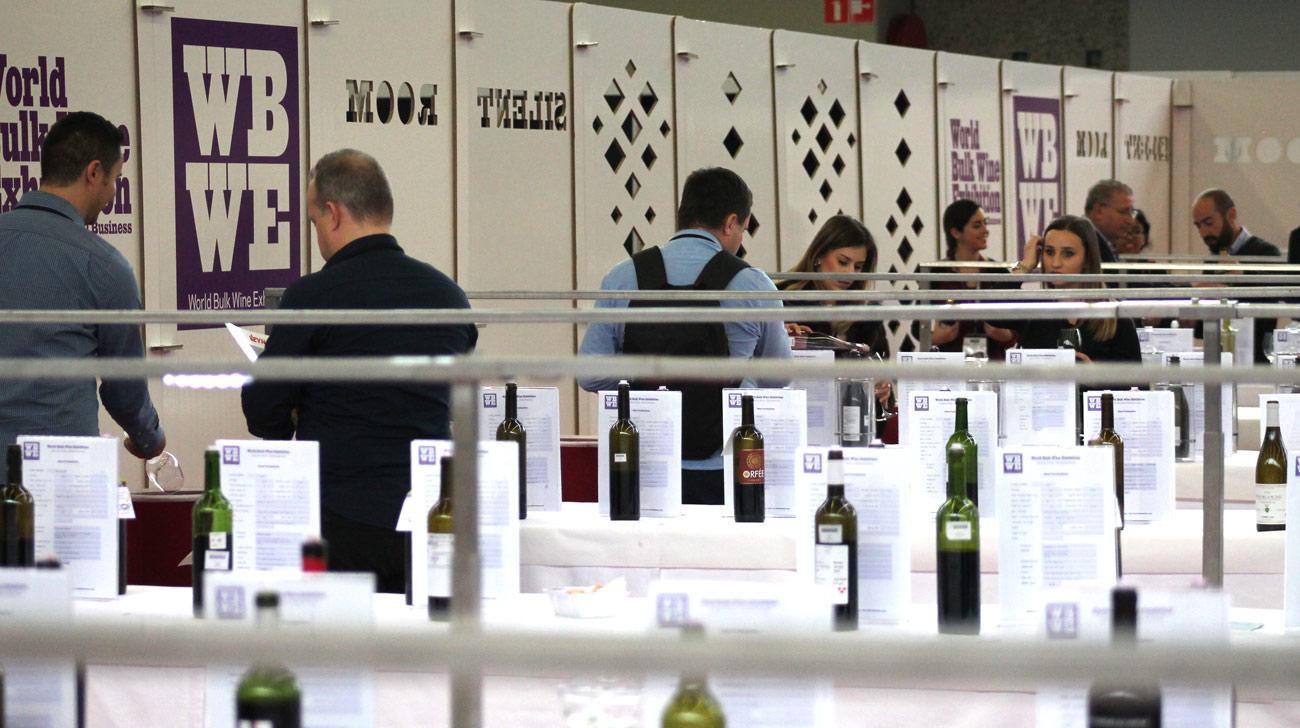 stand para feria de vino world bulk wine exhibition silent room