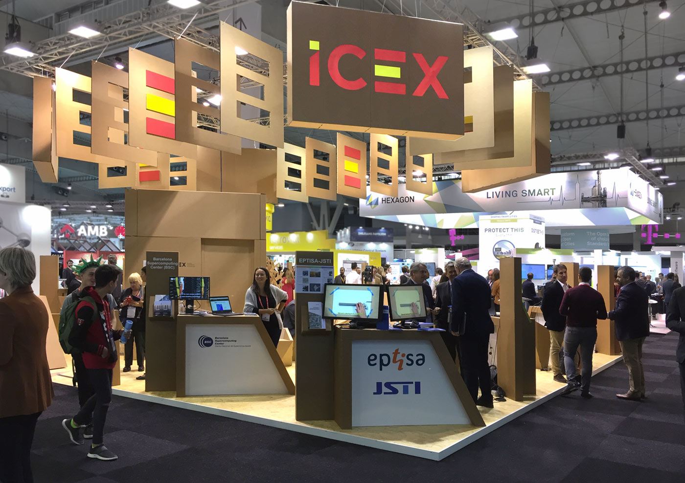 Smart cities world expo icex stand