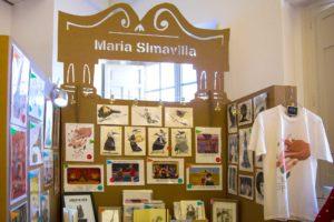 stand ilustracion maria simavilla