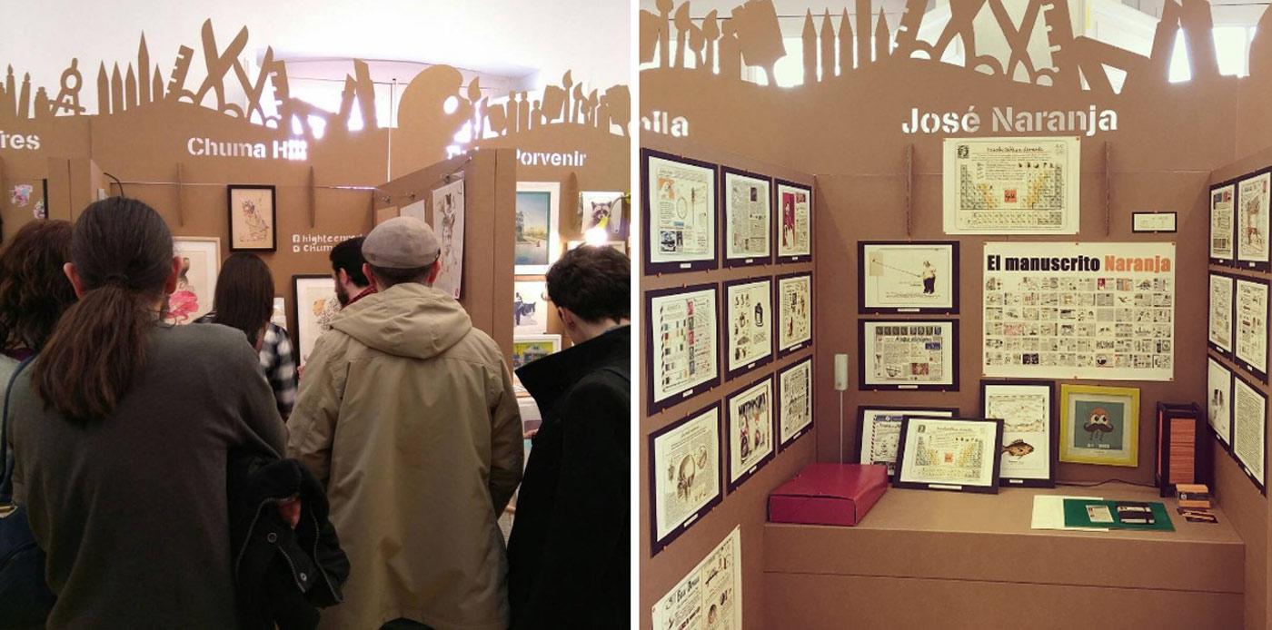 stands ilustradores carton ilustrisima