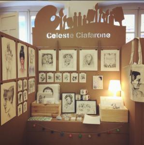 stands para salón de ilustración ilustrisima 2016 celeste ciafarone