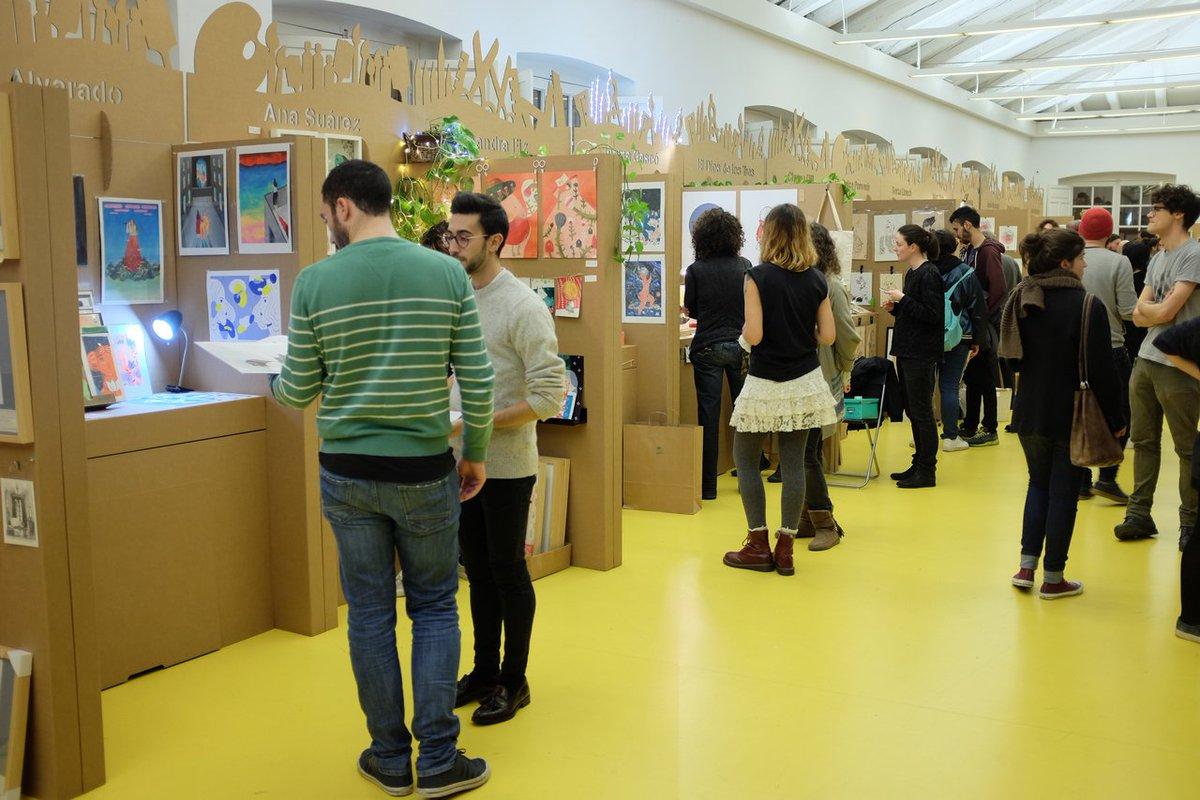stands para salón de ilustración ilustrisima 2016 ilustradores