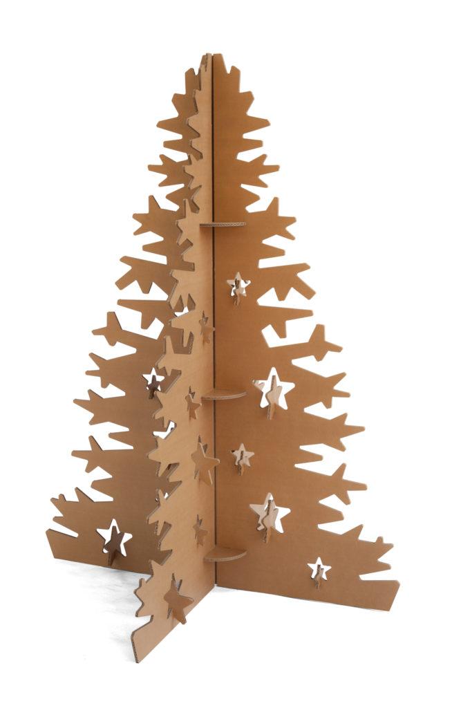 Rbol de navidad de cart n - Tutorial arbol de navidad ...