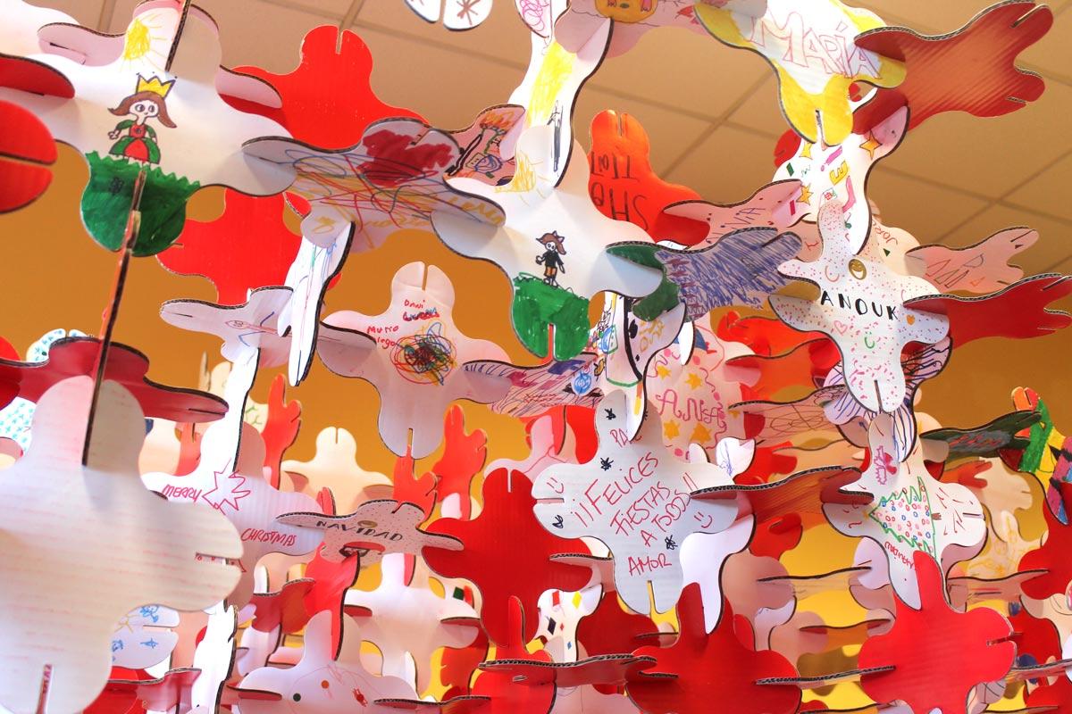 talleres infantiles navideños pozuelo de alarcon estructuras magicas en carton cartonlab 02
