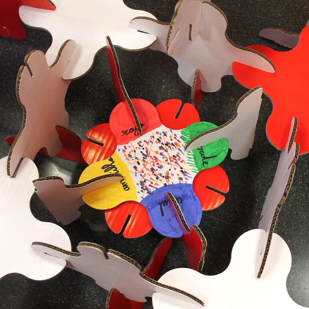 talleres infantiles navideños pozuelo de alarcon estructuras magicas en carton cartonlab 04