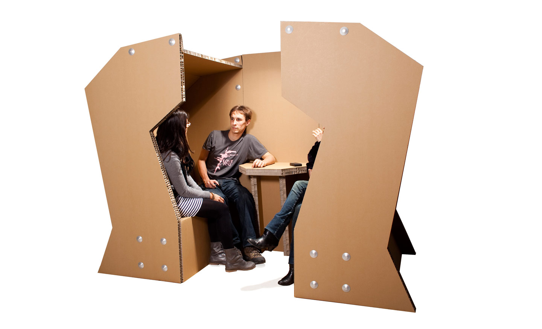 coudamy cellulose16 cardboard cabine cabina carton