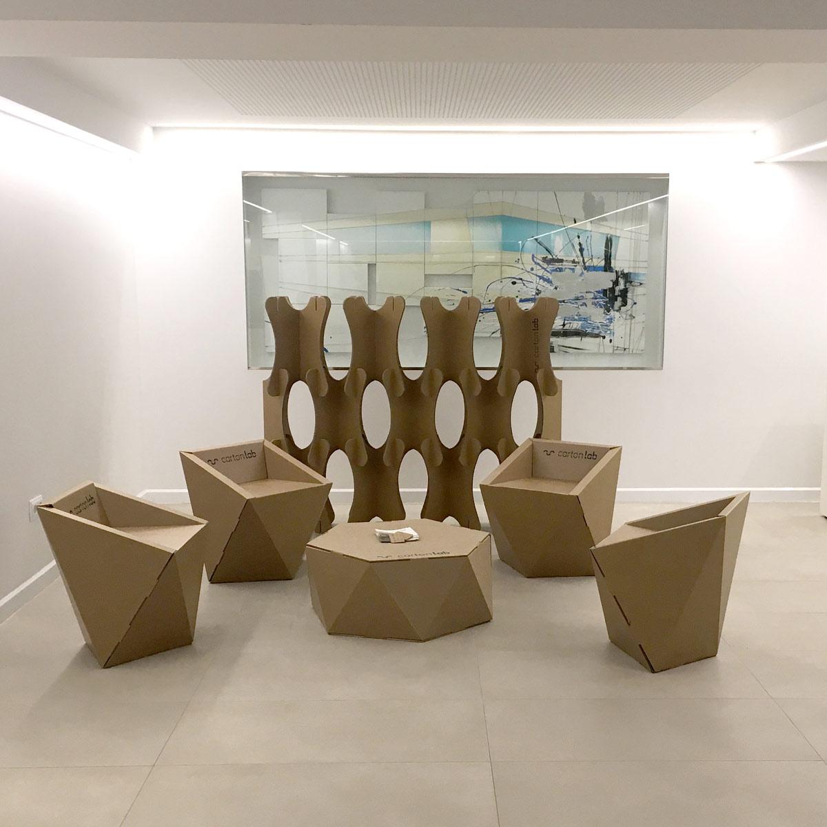 Mobiliario para zona de descanso arquitectura y empresa for Mobiliario empresas