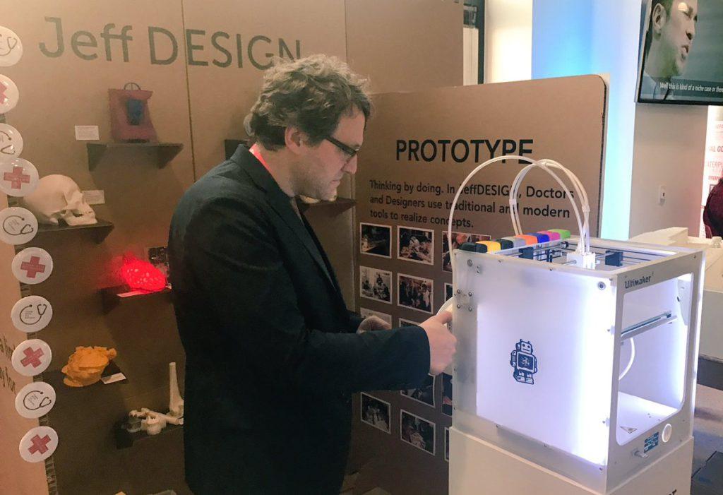 jeffdesign cardboard booth 3d printed