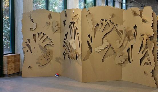 Zuchkov Residents biombo carton niños infantil children kids room divider screen