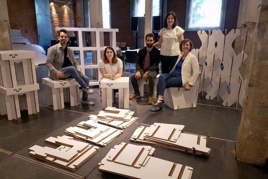 love carton taller cartonlab diseño muebles