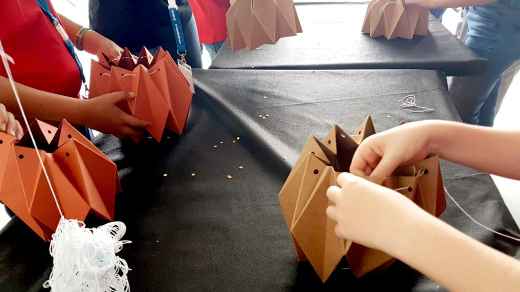Arquitectura de cartón para niños