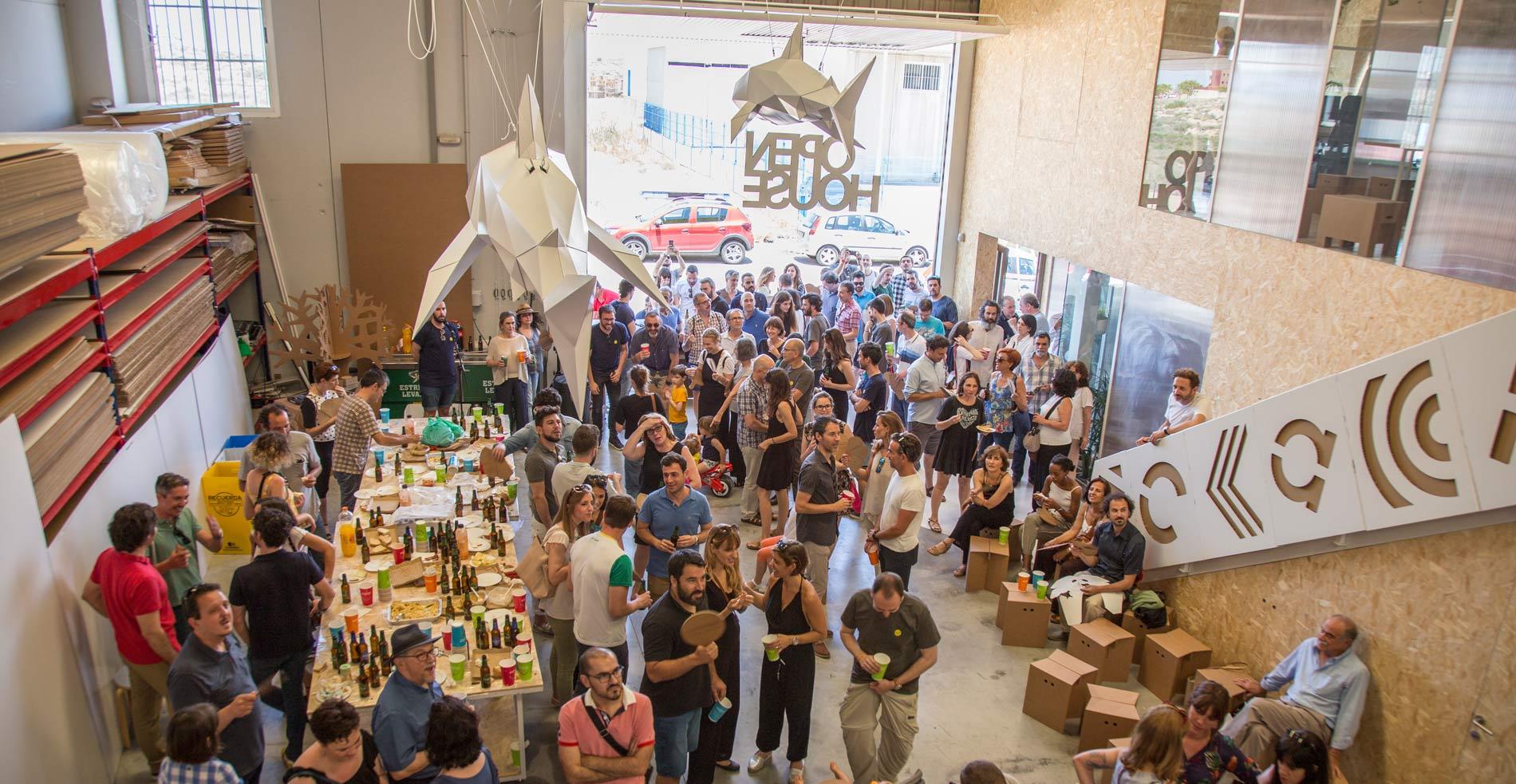 Evento de Inauguración Cartonlab OPEN HOUSE